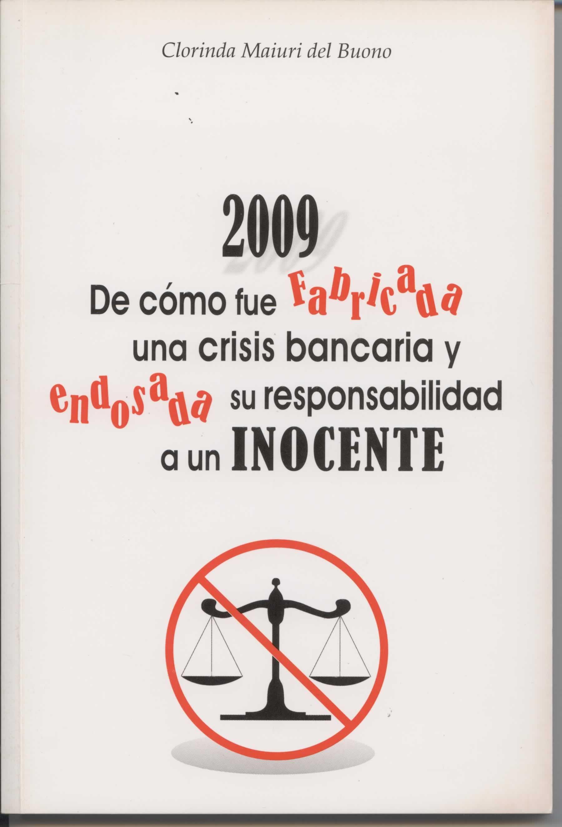 Libro sobre la crisis bancaria